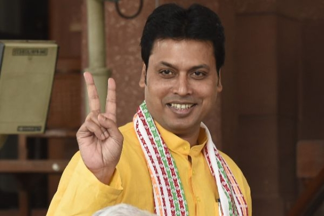No Trouble For Deb: After Being Disciplined By Central Leadership, 'Rebel' Tripura MLAs Say They Travelled To Delhi To Only 'Discuss Organisational Matters'