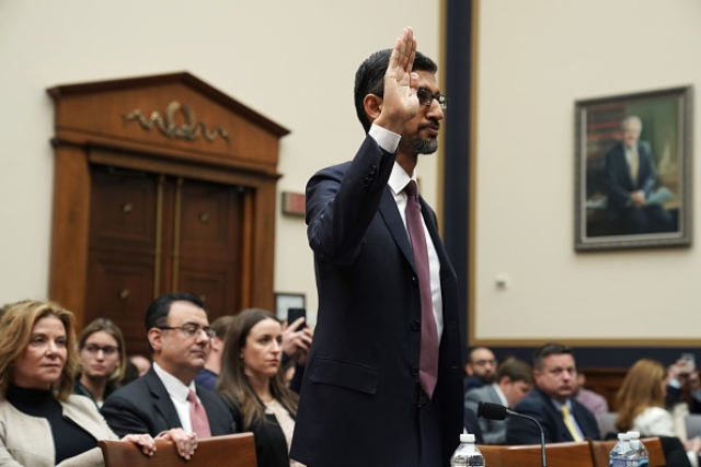 A Libertarian Google? Algorithms Have No Such Sentiments, Claims CEO Pichai; Denies Political Bias During Hearing