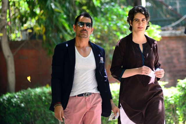 Income Tax Department Records Robert Vadra's Statement As Part Of Benami Assets Investigation