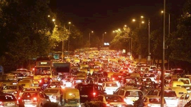 Christmas Chaos In Chandigarh: Late Night Woes For Commuters As Traffic Was Blocked Due To Celebrations