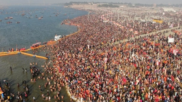 Kumbh Mela 2019: Crores Of Hindu Pilgrims Take Holy Dip At Prayagraj On 'Mauni Amavasya'