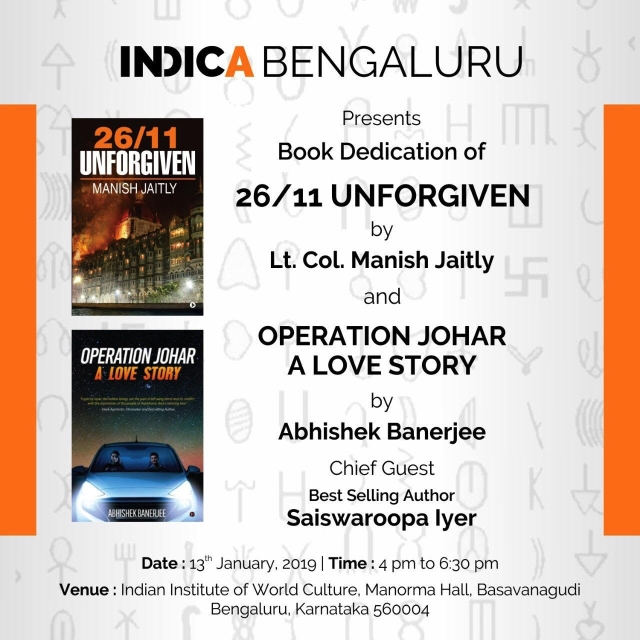 Attention Bengaluru! Two Book Dedications Coming Your Way This Sunday