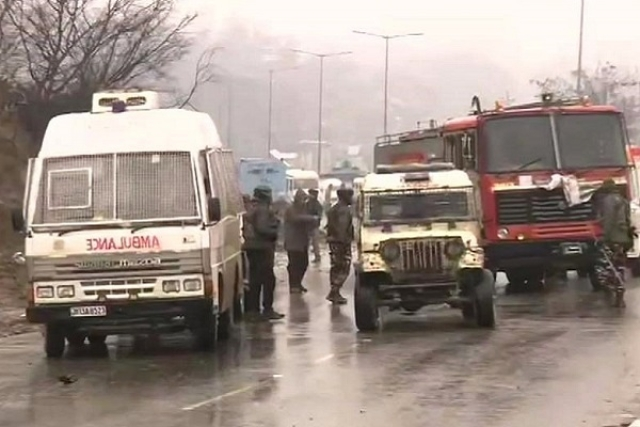 India Loses 44 CRPF Jawans In IED Blast At Kashmir's Pulwama; Pakistan Backed Jaish-E-Mohammed Behind Attack
