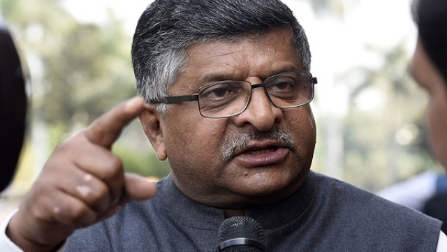 'Rahul Gandhi Is Working As Lobbyist For Competitive Aircraft Manufacturers': Ravi Shankar Prasad On Rafale Attacks