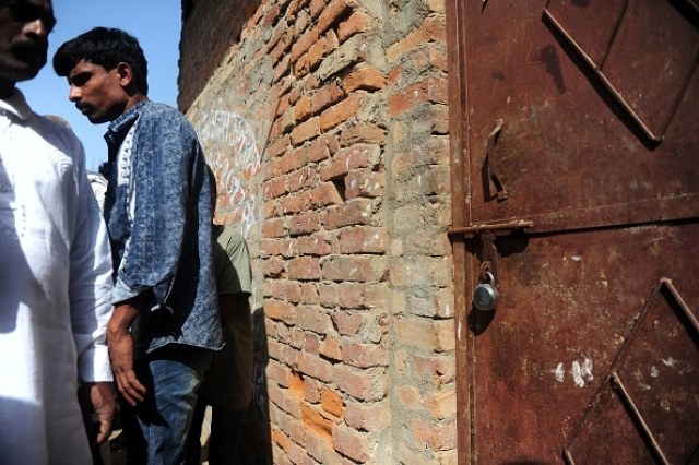 Picture for representation: A shuttered illegal slaughterhouse in the Naini neighborhood of Allahabad in March 2017. (Sanjay Kanojia/AFP/Getty Images)