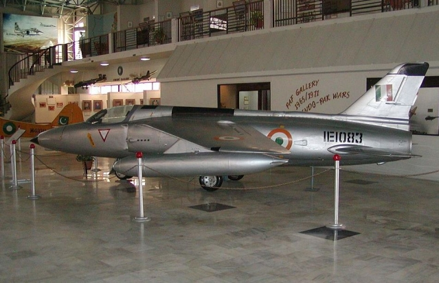 Captured Indian Folland Gnat in PAF Gallery (Wikipedia)