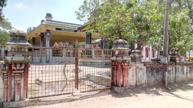 Kambar Memorial built by the Tamil Nadu government at Therazhundur remains locked most of the time.