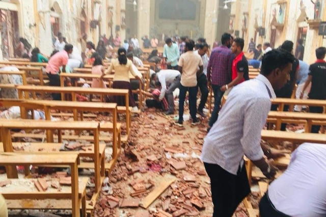 Multiple Explosions In Sri Lanka: Several Churches And Two Hotels Targeted; At Least 20 Dead, 280 Injured