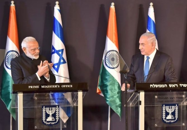 India, Israel Form Sub Working Group To Promote Co-Development, Co-Production Of High-Tech Weapon Systems
