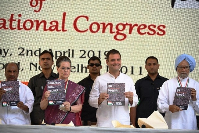 Congress Lok Sabha Manifesto Website Crashes Within Hours Of Upload; Party Credits 'Heavy Traffic'