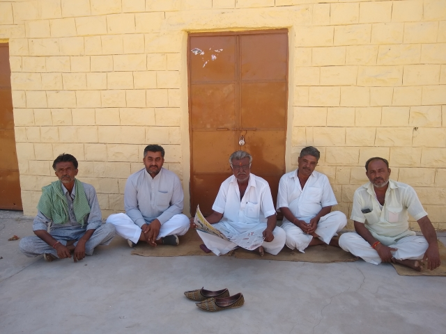 Villagers in Badoda