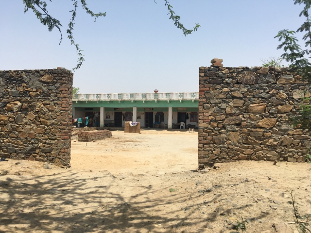 The house of Sharif Khan in Mandla Kalan village