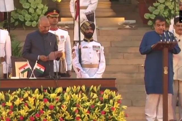 Rajnath Singh And Nitin Gadkari Take Oath As Cabinet Ministers In New Modi Government