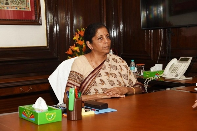 Nirmala Sitharaman Revises FY20 GST Collection Estimate To Rs 6.63 Lakh Crore, Down From Rs 7.6 Lakh Crore