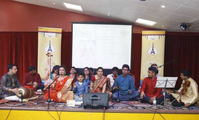 Musical Rendezvous: Celebrating Tyagaraja In Paris
