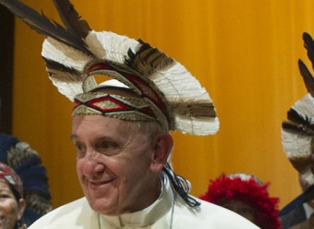 """Pope Is Thinking Locally"": Indigenous Cultures Face Greater  Threat As Catholic Church Set To Target Remote Areas"
