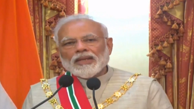 Maldives Confers Its Highest Honour For Foreign Dignitaries Upon PM Modi On His First Foreign Visit Since Re-Election