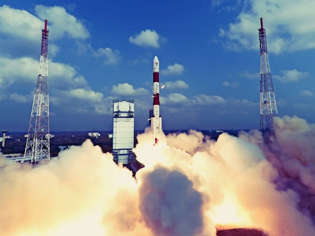 ISRO's PSLV-C49 Successfully Inserts Indian Earth Observation Satellite EOS- 01, Nine Foreign Satellites Into Orbit
