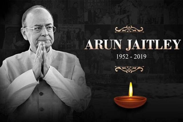 Arun Jaitley Cremated With Full State Honours Following Funeral Procession Led By BJP Stalwart L K Advani