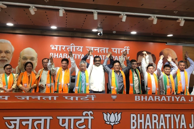 Sikkim: Ten SDF Legislators Join BJP Making It The Main Opposition Party In The State