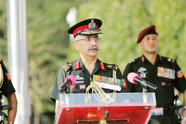 'While We Are  Fighting Coronavirus Globally,  Pakistan Is  Busy Exporting Terror': Army Chief