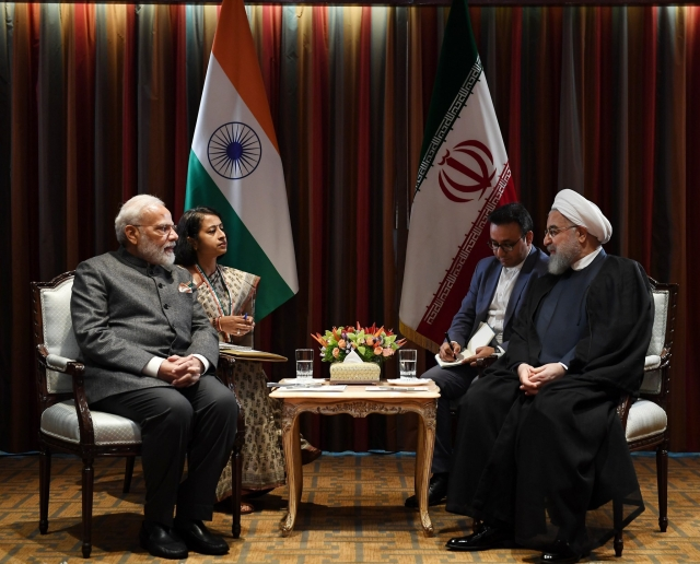 PM Modi Meets Iranian President Hassan Rouhani, Says India Supports Dialogue For Peace In Gulf Region