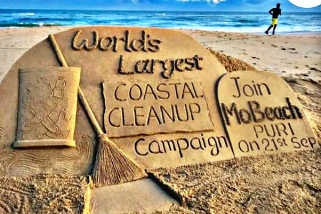 Odisha: Over 10,000 Volunteers Join Hands To Conduct World's Largest Coastal Cleanliness Drive At Puri Beach