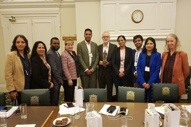 Congress' UK Chapter Discusses 'Human Rights Situation' In Kashmir With Anti-India Labour Party Leader Jeremy Corbyn