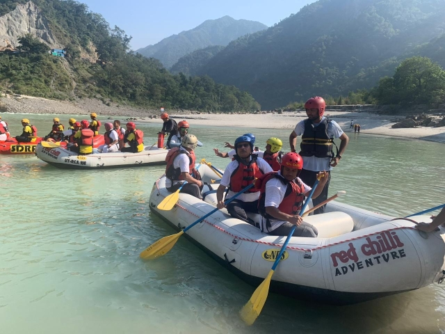 Uttarakhand: Jal Shakti Minister Flags Off 34-Day Long Ganga Rafting Expedition To Raise Awareness On Water Conservation