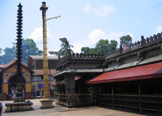 Sri Mookambika Temple of Kollur that had funded mid-day meals to two schools in Karnataka, but was barred from doing so by the previous government.