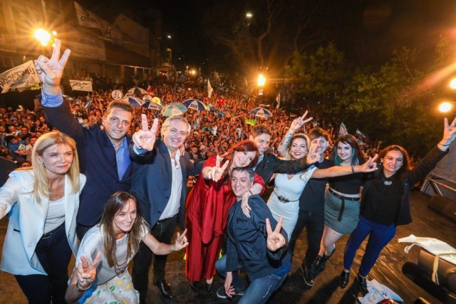 Left-Wing Peronists Storm Back To Power In Argentina As Voter Anger Over Economic Distress Ousts Centre-Right Incumbent