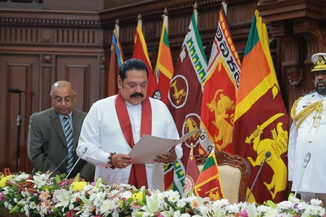 Sri Lanka: Former President Mahinda Rajpaksa Sworn-In As New Prime Minister After Wickremesinghe's Resignation