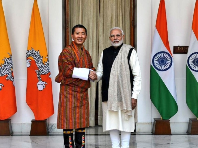 In A First, India And Bhutan Launch Joint Venture To Build 600 MW Hydro-Electric Project