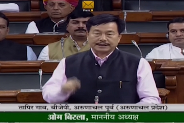Watch: BJP MP Tapir Gao Says China Has Intruded 50-60 Km Inside Arunachal, Warns Of Doklam Like Standoff In Future