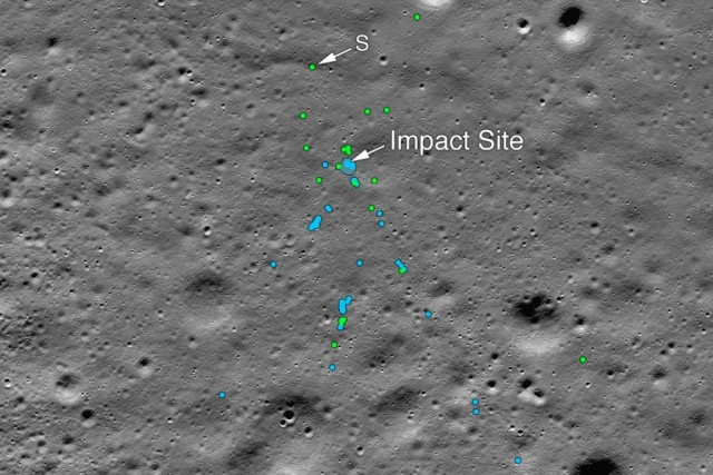NASA Finds Impact Site And Debris Of ISRO's Chandrayaan-2 Vikram Lander After Tip From Indian Space Enthusiast
