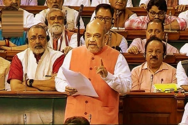 "Amit Shah Referred To This Country As ""Brahmadesh"" During The Historic Debate On CAB In The Lok Sabha"