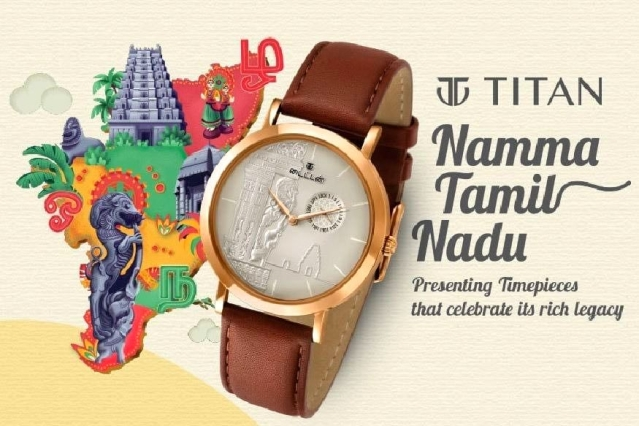 Clash Over Titan: Ad For New Watch Collection That Celebrates Tamil Culture Runs Into 'Dravidian' Trouble