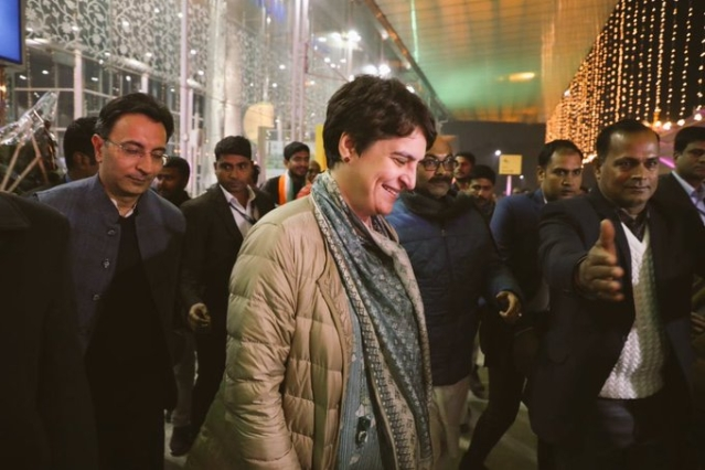 'Seasonal Hindus Are Back': Priyanka Vadra Ridiculed After Getting Key Hindu Mantra Wrong