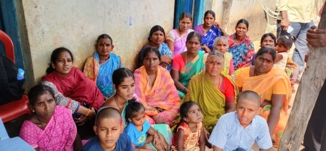 Women in Lakshmi's family and neighbourhood