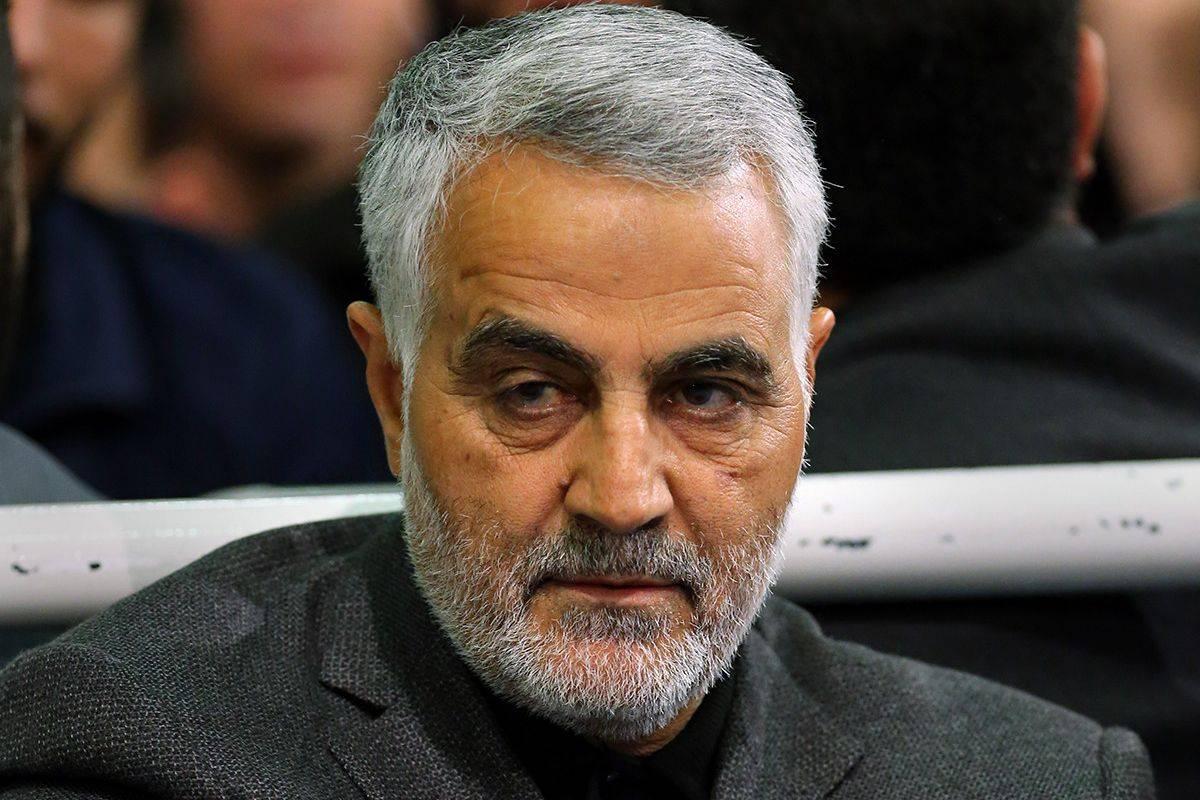 Qasem Soleimani in Imam Khomeini Hossainiah01 jpg?w=1200&auto=format,compress&ogImage=true.'
