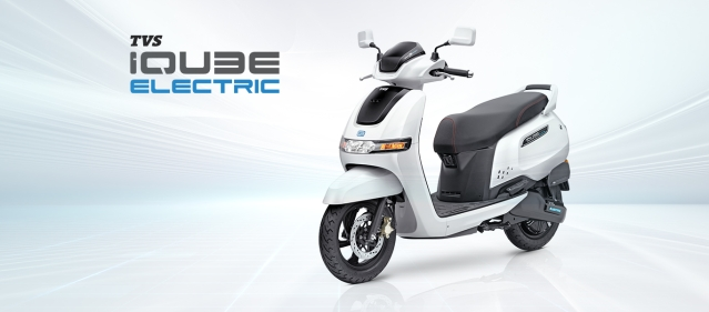 Priced At ₹1,15,000 And  Range Of 75 km On Full Charge, TVS Motor Rolls Out Electric Scooter IQUBE