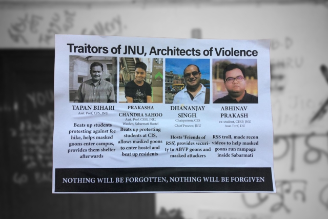 From Professors To Paan Wala, How The Left Is Hounding Its 'Critics' In JNU