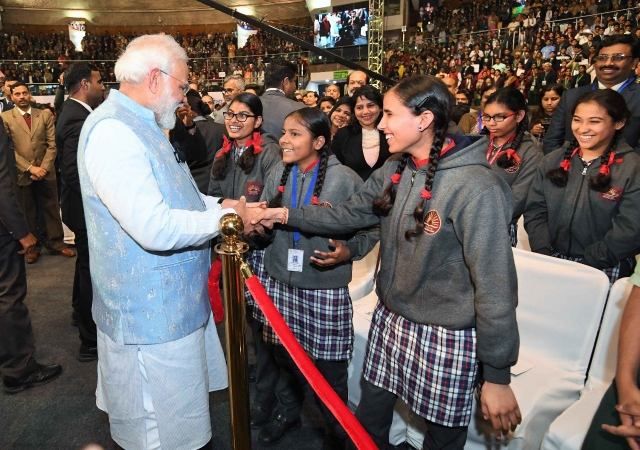 With 'Pariksha Pe Charcha', Modi Gets The Right Conversations Started With Students