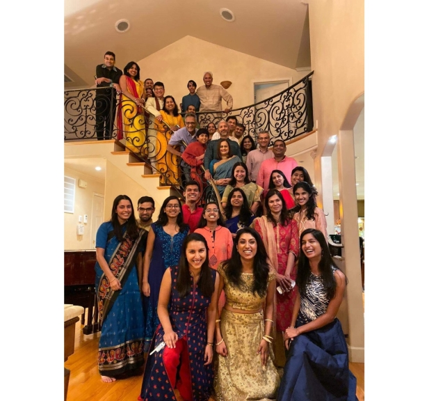 A Diwali party hosted by Madan or a Bay Area IIT mini reunion?