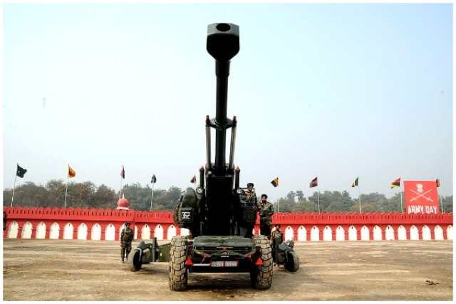 Indian Army Readying Its Deadly Bofors Howitzers For Deployment In Ladakh Amid LAC Tensions With China