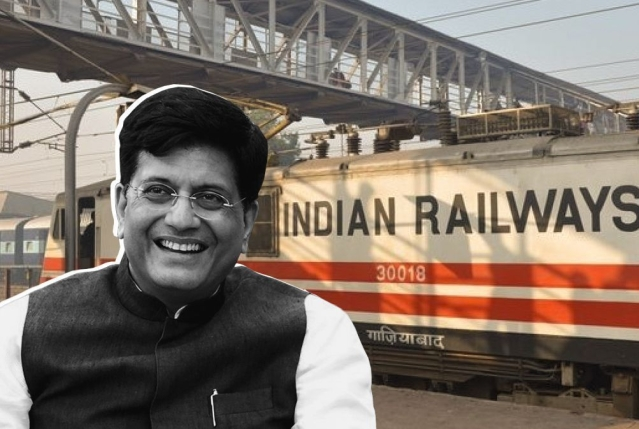 Indian Railways' Vision 2024: 2024 Million Tonnes Freight Loadings, Elimination Of Over 2,400 Manned Level Crossings, Completion Of Projects In Northeast