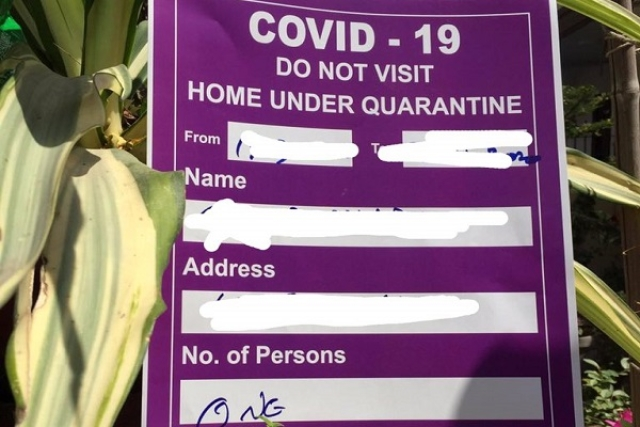 Went To Thailand After Telling Family They Were Going For Work To Kolkata, Caught Via Home Quarantine Posters