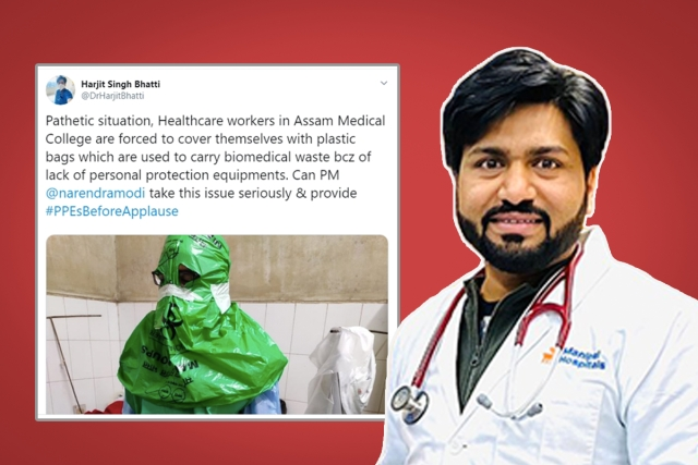 'AIIMS Doctor', Who Swarajya Exposed As Congress Worker, Spreads Fake News Amid Coronavirus Scare