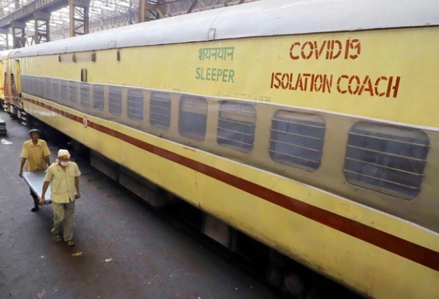 Indian Railways Provides More Than 15,000 Isolation Beds For Covid-19 Patients