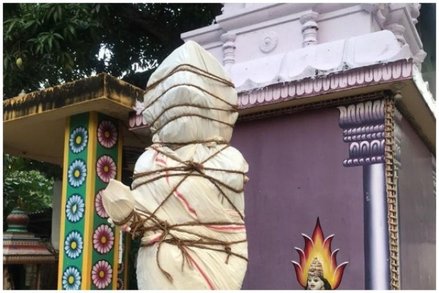 Bharat Mata Shrouded: Don't Be Surprised By What Happened In Kanyakumari; Hindus Of District Have To Bear Evangelist Aggression Day In, Day Out